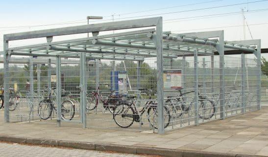 Fahrradhaus Frame, beidseitige Einstellung mit Mittelgang