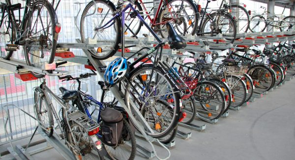 Fahrraddoppelständer Duodeck