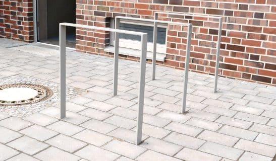 Fahrradständer Flachstahl, geschweißt