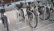 Fahrradparker Forte Plus, einseitig, höhenversetzt