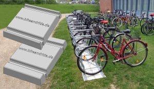 fundamentsteinplatte fahrradständer