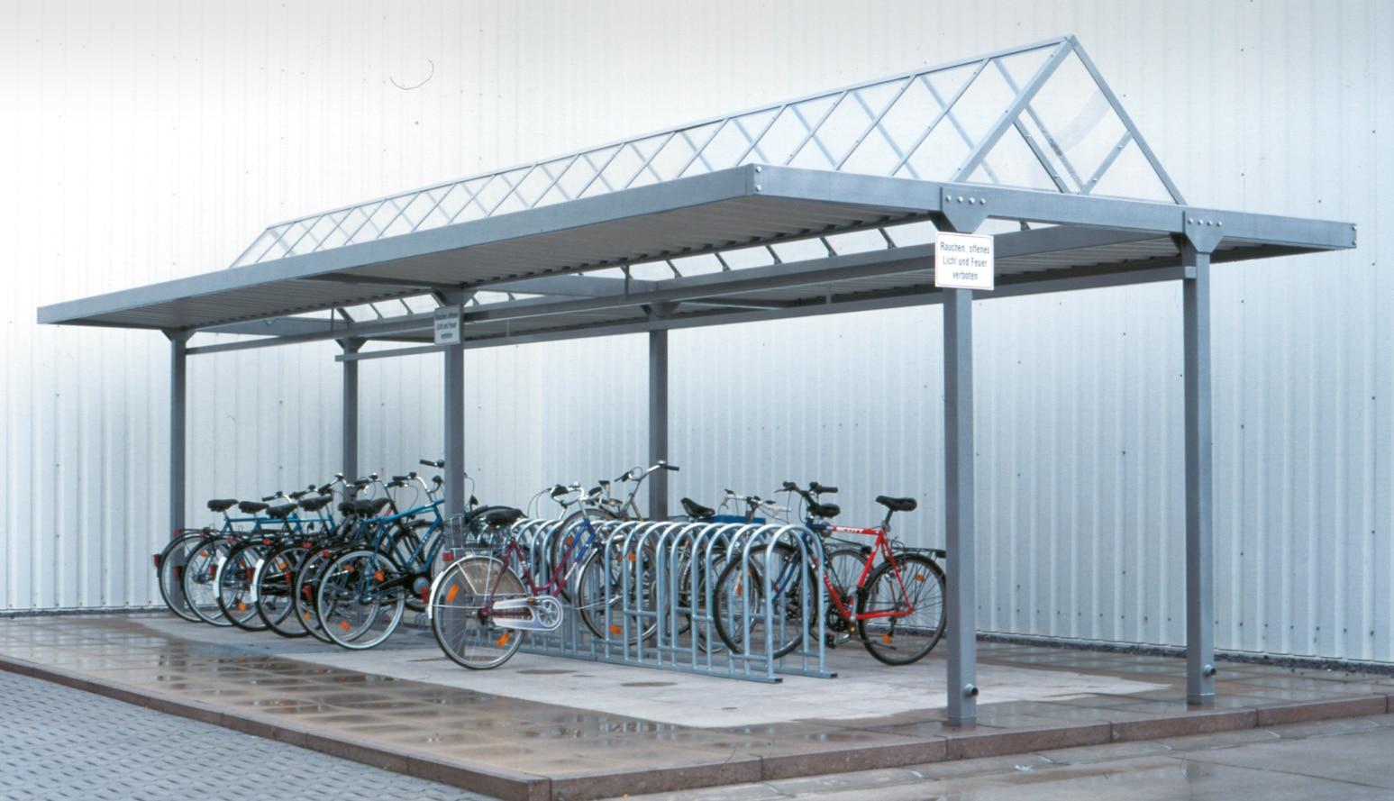 Überdachung tectum | bike and ride gmbh