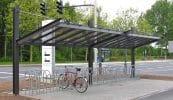 Überdachungen Urban Line einseitig mit Verbundscheibensicherheitsglas-Eindeckung
