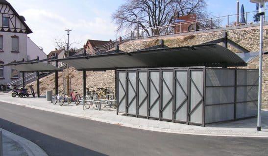 Überdachung Urban Style einseitig und beidseitig